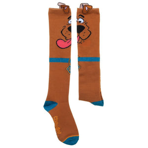 Additional image of Scooby-Doo Novelty Ears Knee High Socks
