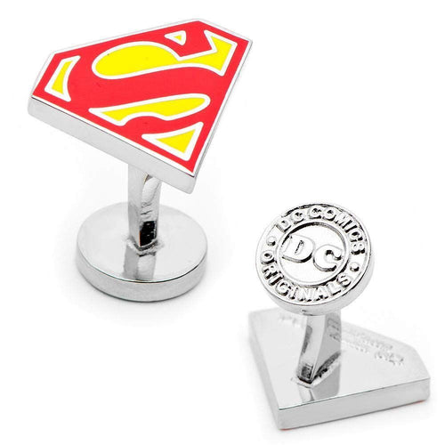 Men's Superman Cufflinks (Red)