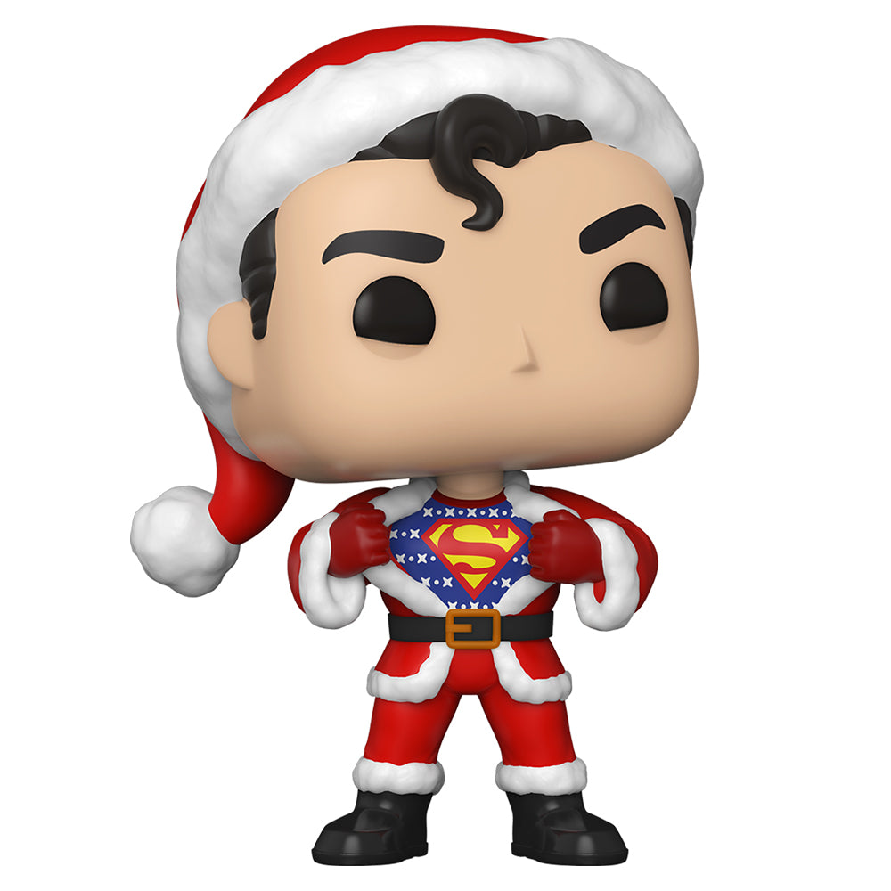 DC Holiday: Superman in Holiday Sweater Funko Pop! Heroes Vinyl Figure