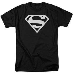 Superman Black & White Shield T-shirt