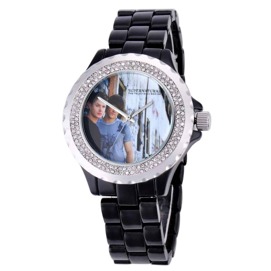 Supernatural Winchester Brothers Rhinestone Watch
