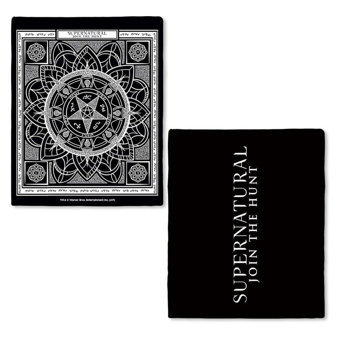 Supernatural Devil's Trap Pattern Fleece Throw Blanket