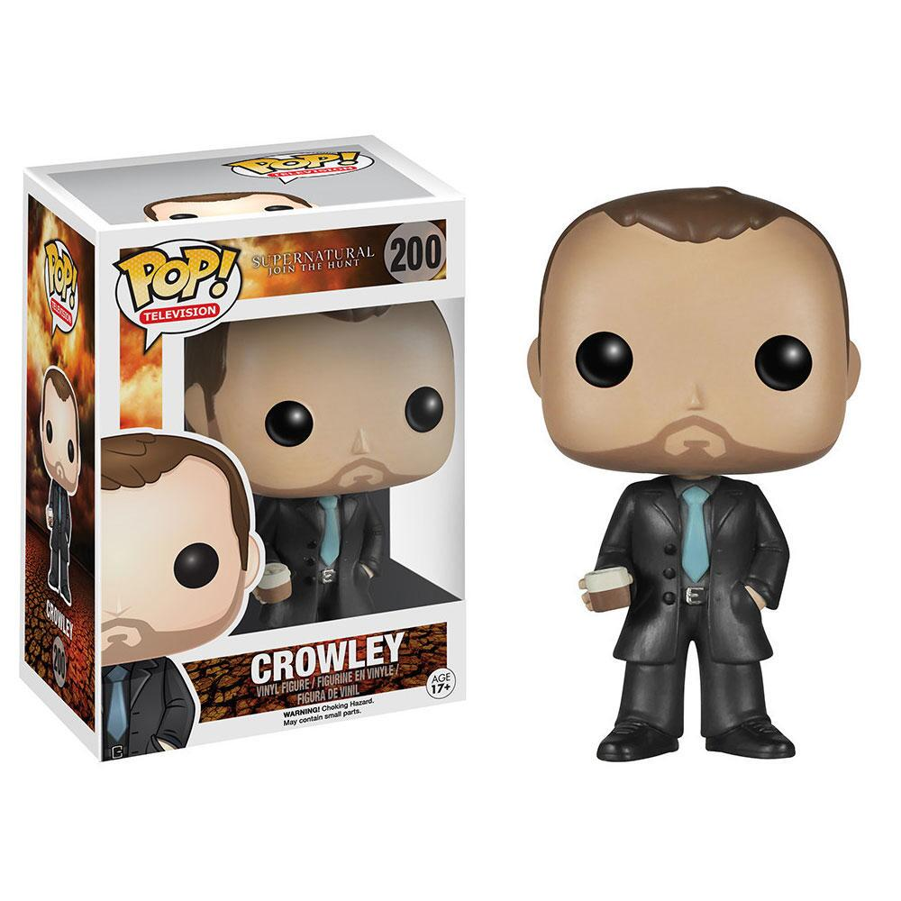 Supernatural Crowley Vinyl Pop! Figure