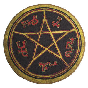 Supernatural Devil's Trap Symbol Doormat