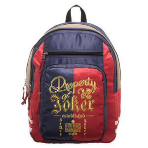 Suicide Squad Harley Quinn Property of Joker Backpack