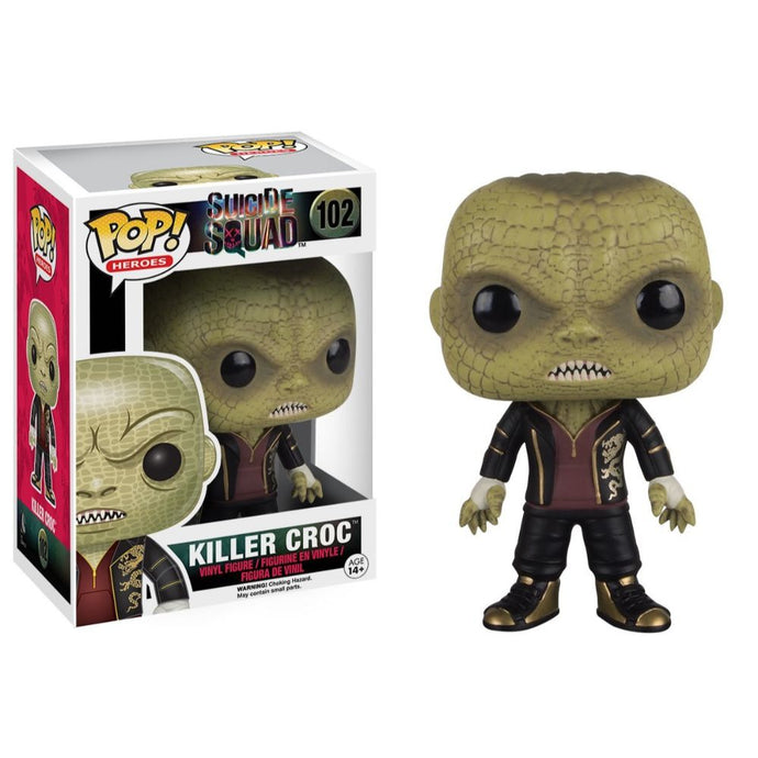 Suicide Squad Killer Croc Vinyl Pop! Figure by Funko