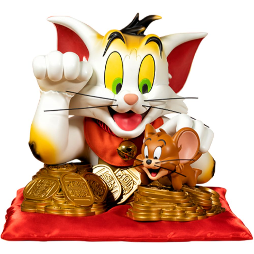 Tom and Jerry (Maneki-neko Edition) Bust