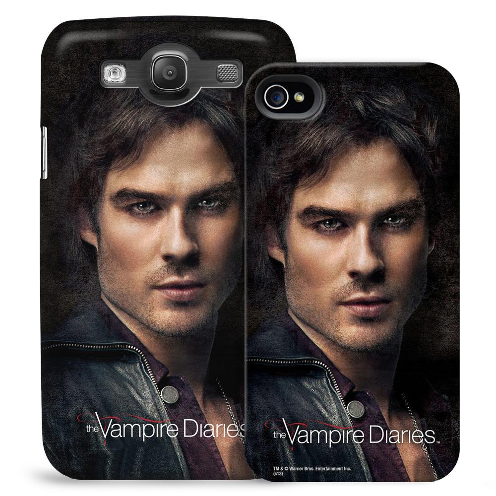 VAMPIRE DIARIES™ Damon Portrait Phone Case for iPhone and Galaxy