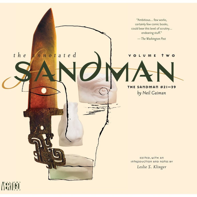 Annotated Sandman Vol 02 Hardcover Graphic Novel