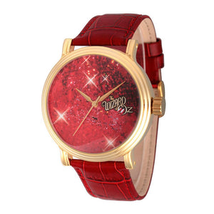 The Wizard of Oz Red Ruby Shoes Pattern Women's Watch