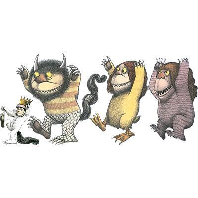 Where the Wild Things Are Wall Cling