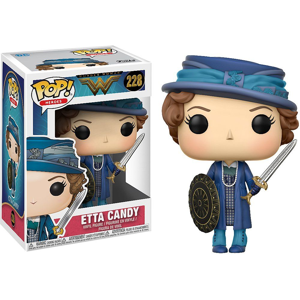 Wonder Woman Movie Etta with Sword & Shield Pop! Vinyl Figure by Funko