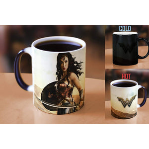 Additional image of Wonder Woman Movie Ready for Battle Ceramic Transforming Mug