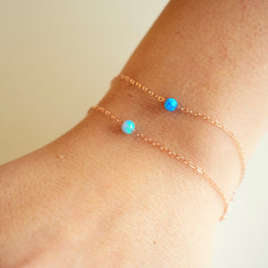 Light Blue Rebecca Bracelet