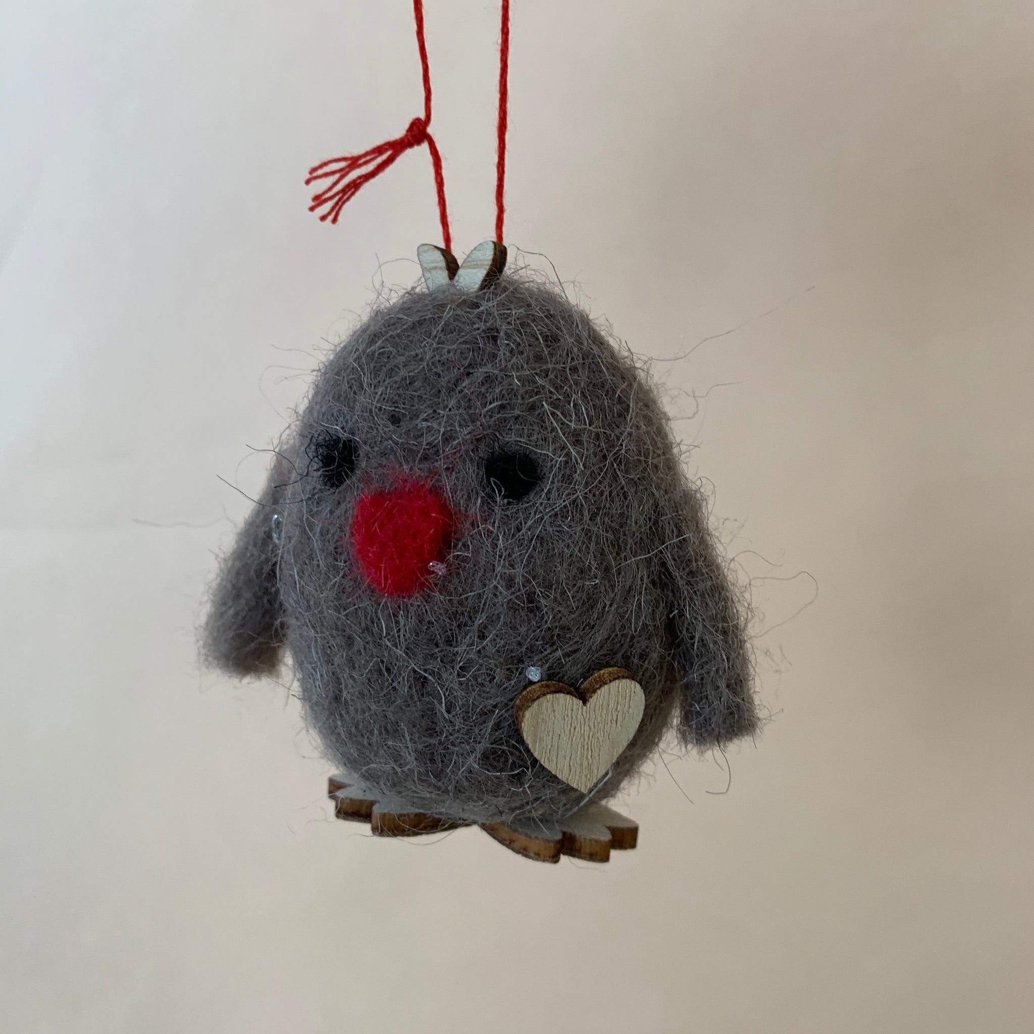 Felted Woodland Ornaments