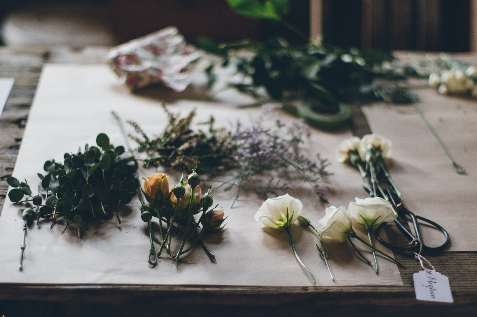 Floristry 101 (Beginner) April 14th
