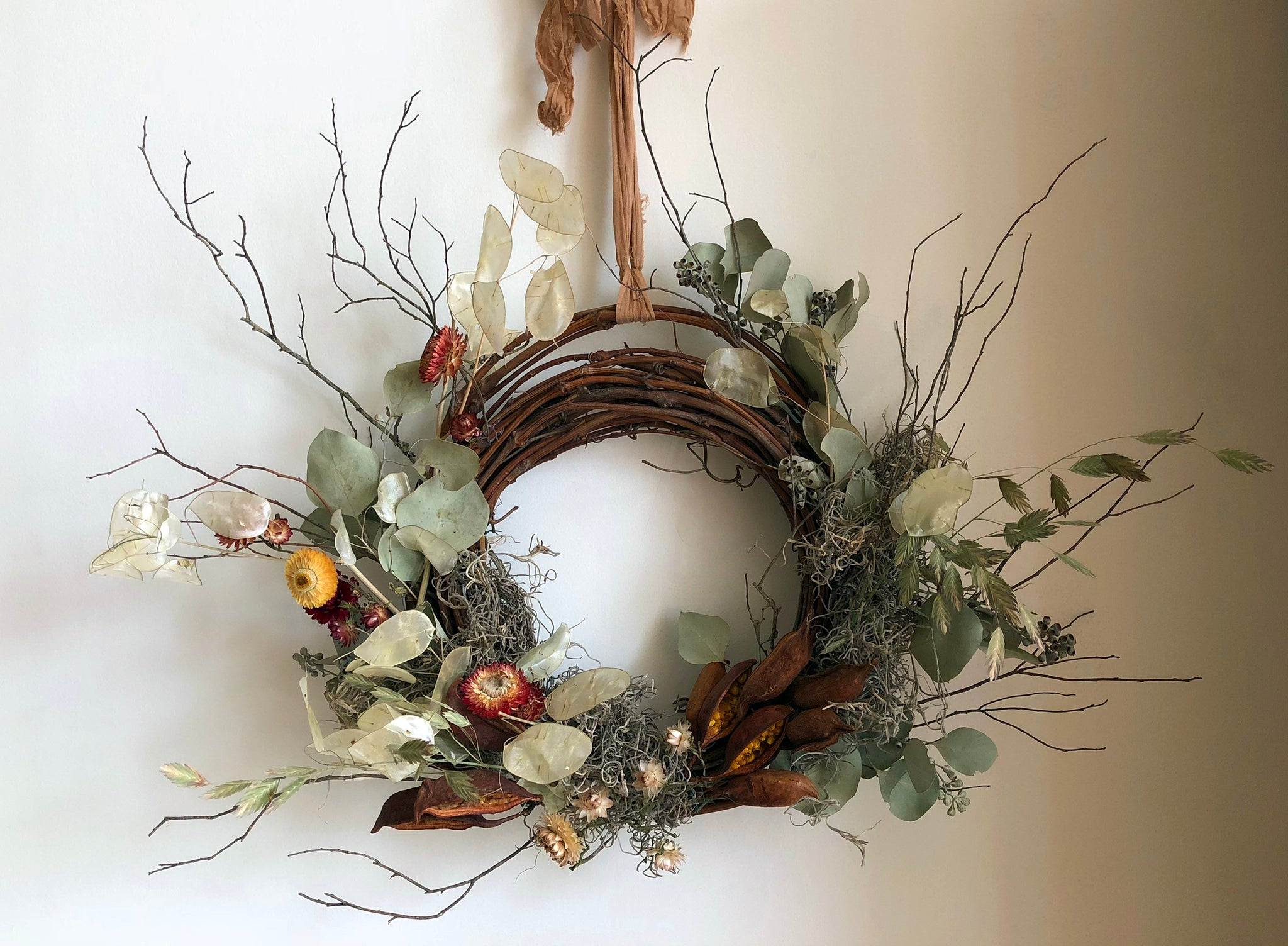 Dried Wreath Workshop (Toronto) November 3rd