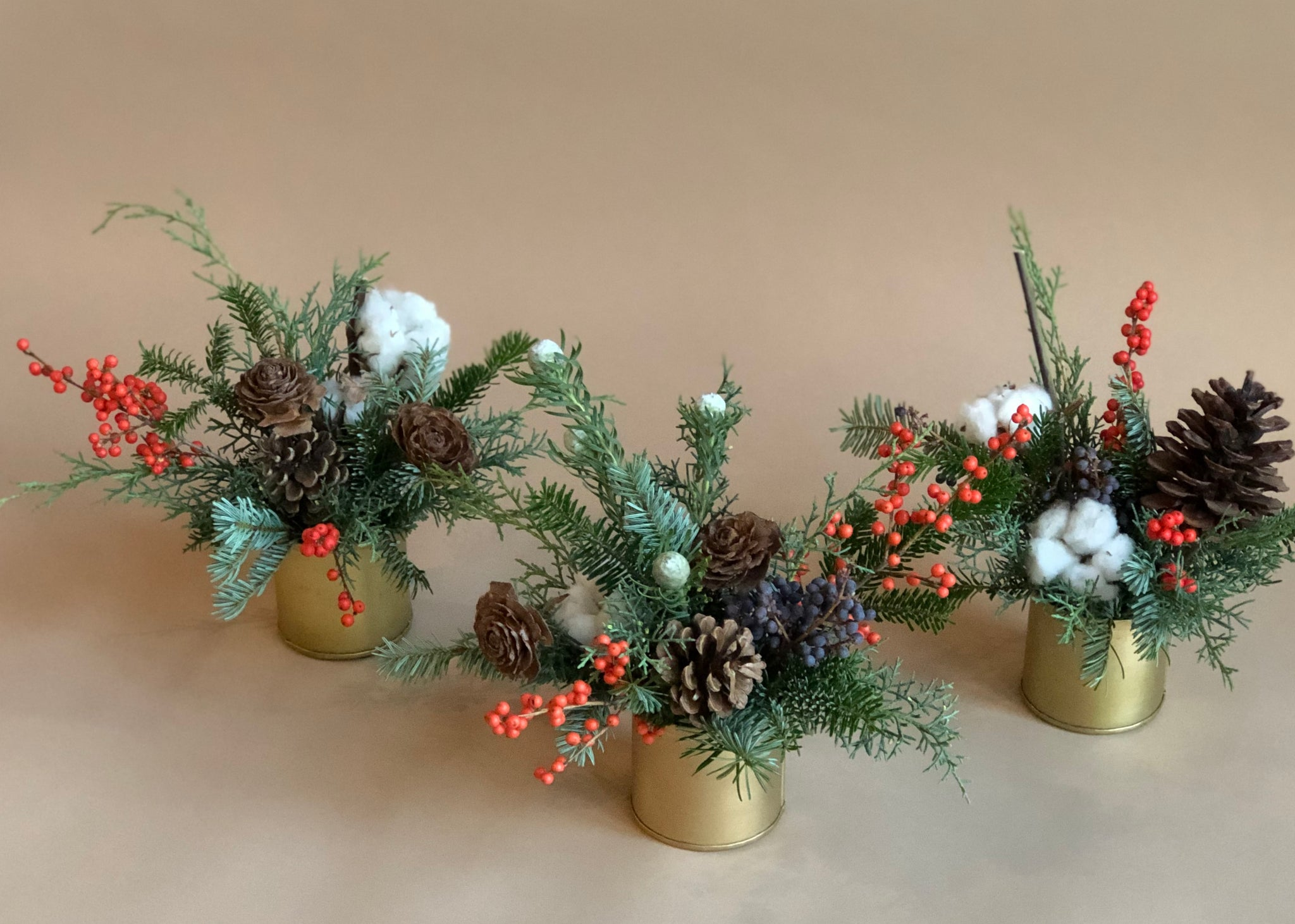 Holiday Mini-Trio Centrepiece Collection