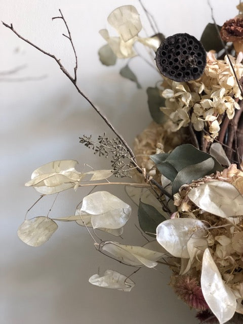 Spring Dried Wreath Workshop (PEC) March 31st, 2019