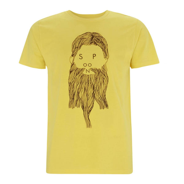 BEARD YELLOW T-SHIRT - Spoon