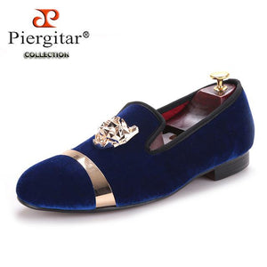 Piergitar Red Bottomed Loafers