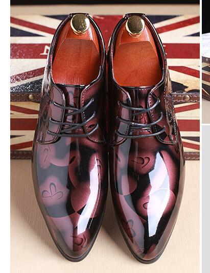 Oxford - Patent Leather Men's