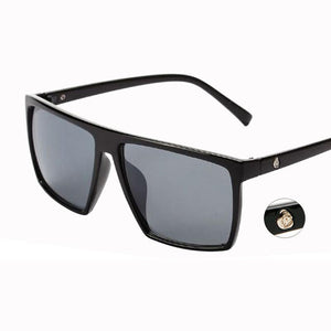 Classic Black Square Sunglasses