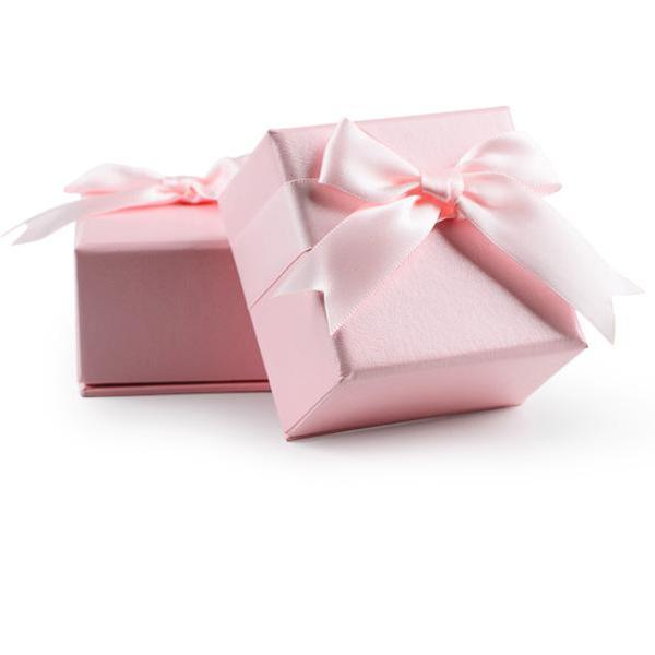 7pcs High Quality Multi Function Leatherette Paper Jewelry Gift Box Pink