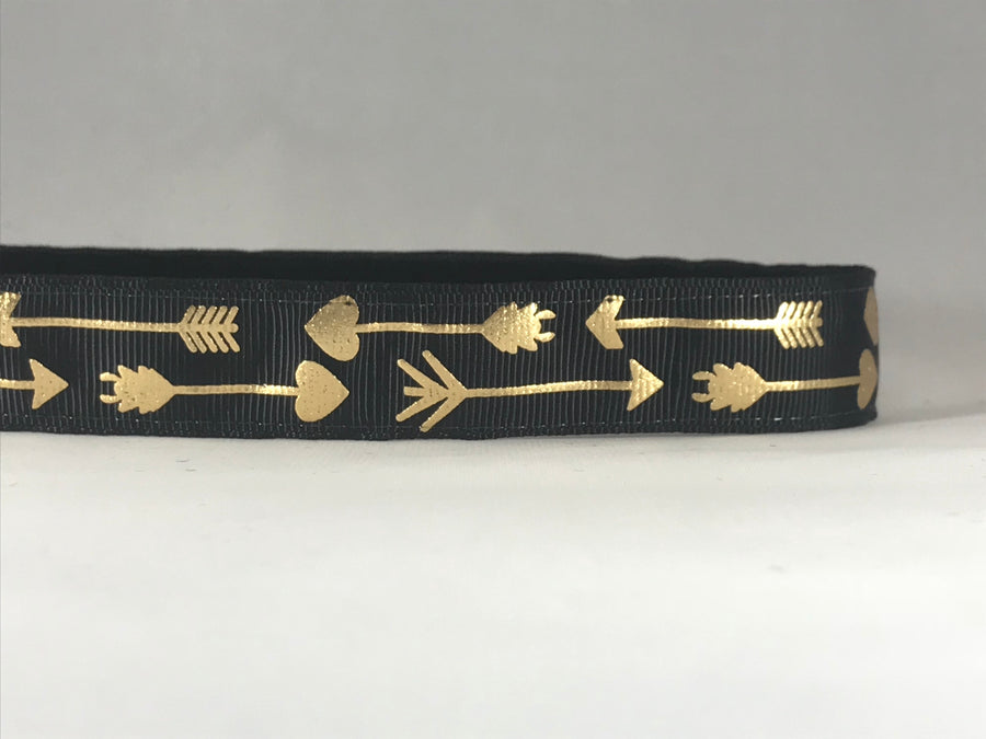 Black with Gold Arrows