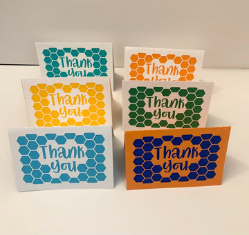 Thank You Cards - Beehive
