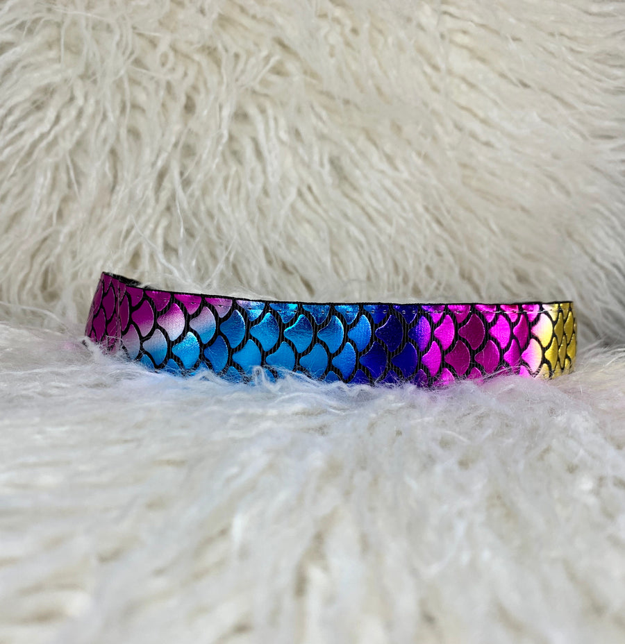 Mermaid Scales Black