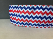 "WIDE Red/White/Blue 1.5"" wide"