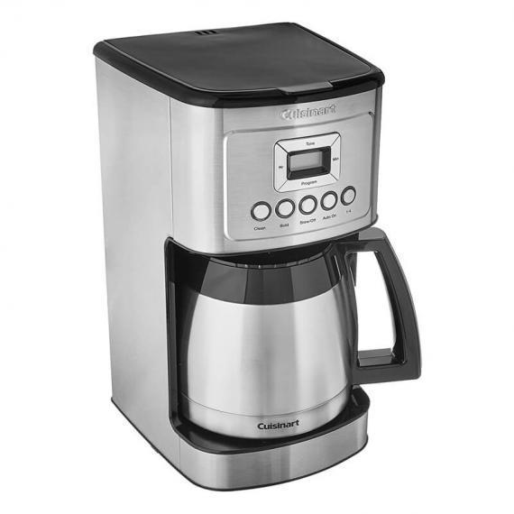 Cuisinart DCC-3400IHR 12 Cup Stainless Steel Thermal Coffeemaker (Refurbished) (6 Month warranty),- TechSpirit Inc., Brampton
