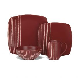CUISINART STONEWARE ANET COLLECTION 16-PIECE DINNERWARE SET