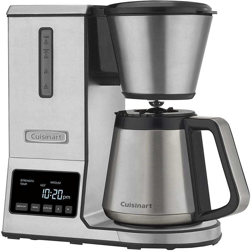 Cuisinart CPO-850 Coffee Brewer, 8 Cup, Stainless Steel,- TechSpirit Inc., Brampton