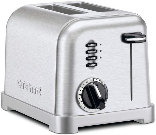 Cuisinart CPT-160 Metal 2-Slice Toaster -Brushed Stainless