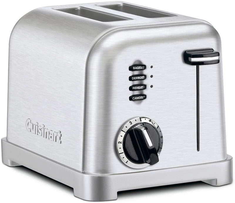 Cuisinart CPT-160 Metal 2-Slice Toaster -Brushed Stainless,- TechSpirit Inc., Brampton