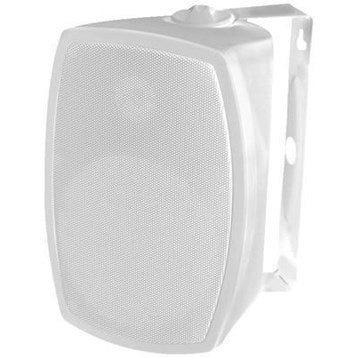 "OMAGE GR406 2 WAY 6.5"" INDOOR/OUTDOOR HI FI SPEAKERS WHITE (PAIR),tech-hub-services"