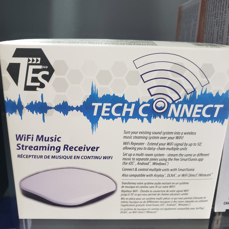 TES WIFI MUSIC STREAMING RECEIVER,- TechSpirit Inc., Brampton