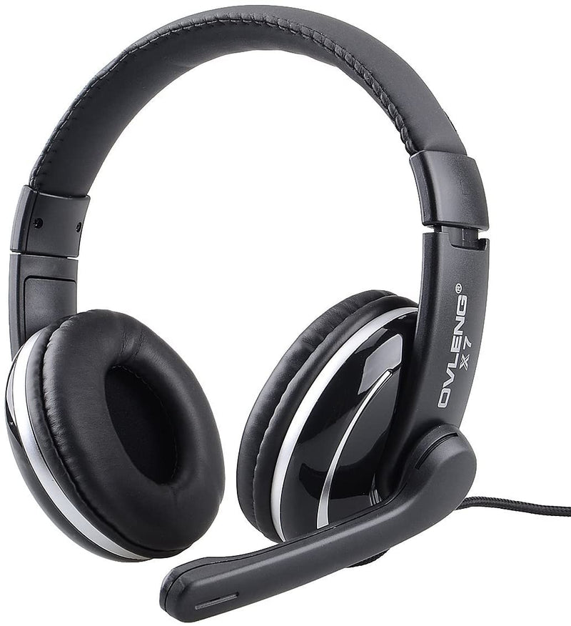 Ovleng X7 3.5mm Stereo Sound Gaming Headset with Mic