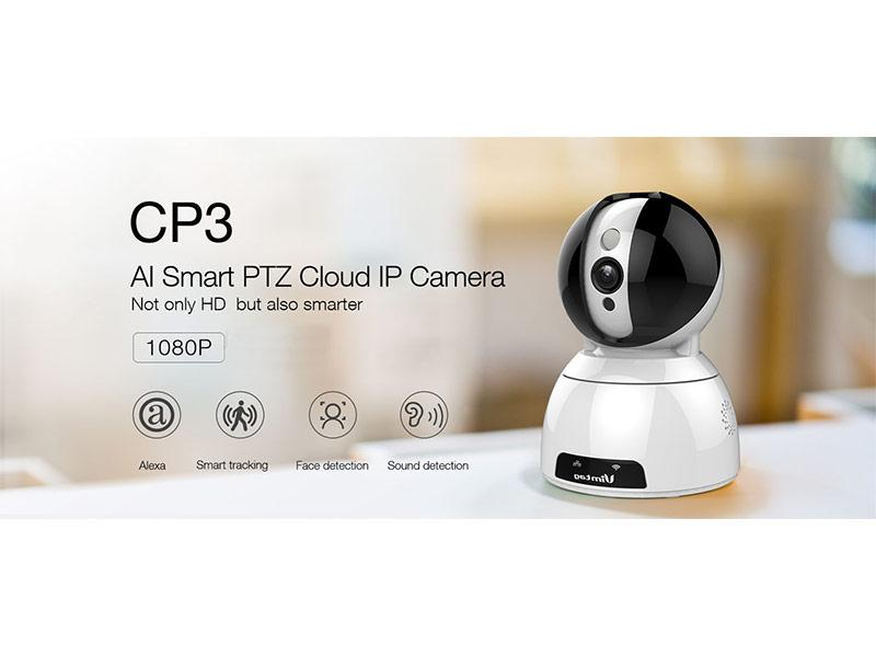 Vimtag P2P AI Smart Wireless Camera, 1080P Resolution, 2 Way Talk, Support 128GB MicroSD, and Cloud Storage,tech-hub-services