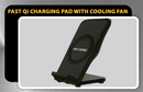 Fast Qi Charging Pad with built in Cooling Fan MWC-2,tech-hub-services