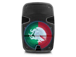 "Technical Pro 12"" Mexico Bluetooth speaker with LED Lights"