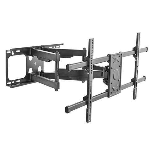 "Brateck LPA49-486 Super Solid Dual Arm Large Full Motion TV Wall Mount 37""-90"" TVs,- TechSpirit Inc., Brampton"