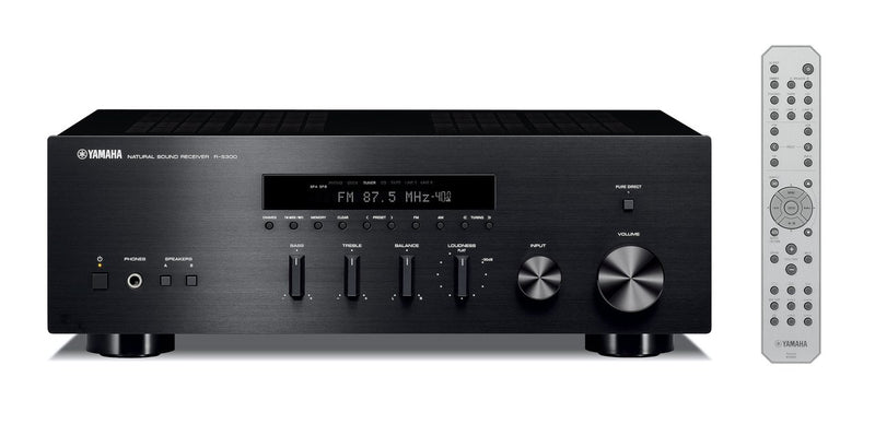 Yamaha R-S300 Natural Sound Stereo Receiver (Refurbished),- TechSpirit Inc., Brampton