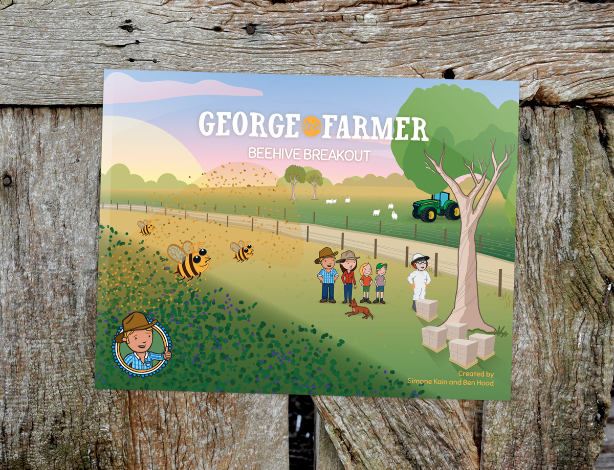 George the Farmer Beehive Breakout Picture Book