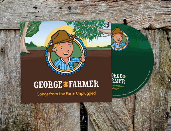 George the Farmer Songs from the Farm Unplugged CD