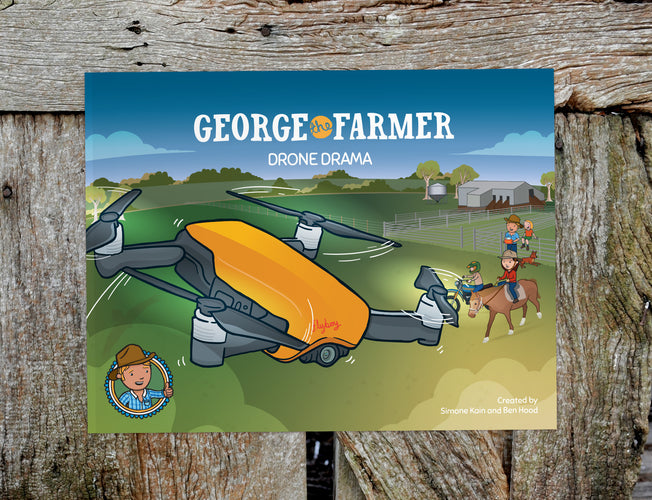 George the Farmer Drone Drama