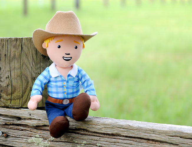 George the Farmer Cuddle Doll