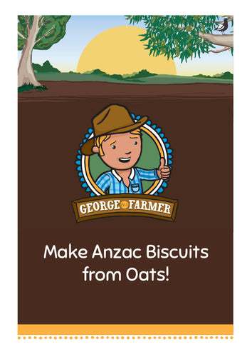 Make Anzac Biscuits from Oats